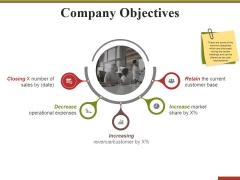 Company Objectives Ppt PowerPoint Presentation Gallery Graphic Tips
