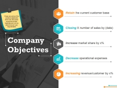 Company Objectives Ppt Powerpoint Presentation Professional Guide
