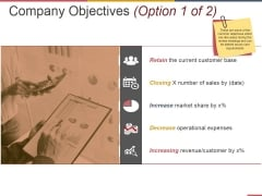 Company Objectives Template 1 Ppt PowerPoint Presentation Styles Infographics
