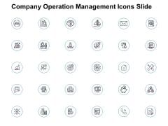 Company Operation Management Icons Slide Ppt PowerPoint Presentation Show Guidelines