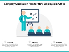 Company Orientation Plan For New Employee In Office Ppt PowerPoint Presentation File Pictures PDF