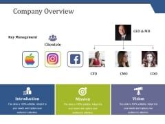 Company Overview Ppt PowerPoint Presentation File Outline