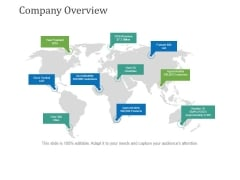 Company Overview Ppt PowerPoint Presentation Summary Icon