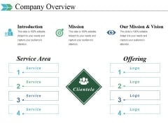 Company Overview Ppt PowerPoint Presentation Visual Aids Icon