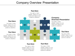 Company Overview Presentation Ppt PowerPoint Presentation Ideas Example Topics Cpb