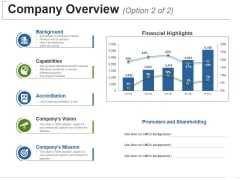 Company Overview Template 2 Ppt PowerPoint Presentation Gallery Templates