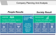 Company Planning And Analysis Ppt PowerPoint Presentation Icon Example Introduction