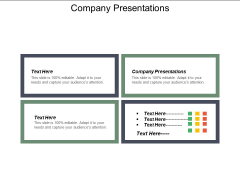 Company Presentations Ppt PowerPoint Presentation Template Cpb