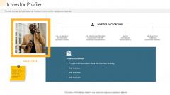 Company Process Handbook Investor Profile Ppt Visual Aids Summary PDF