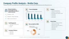 Company Profile Analysis Nvidia Corp Brochure PDF