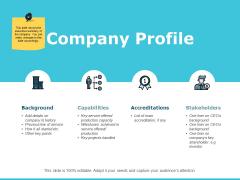 Company Profile Ppt PowerPoint Presentation File Smartart