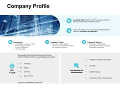 Company Profile Ppt PowerPoint Presentation Professional Background Images