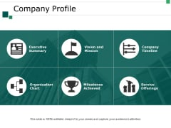 Company Profile Ppt PowerPoint Presentation Slides Example File
