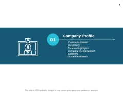 Company Profile Revenue Growth Ppt PowerPoint Presentation Model Grid