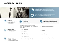 Company Profile Training Ppt Powerpoint Presentation Outline Diagrams