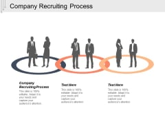 Company Recruiting Process Ppt PowerPoint Presentation Ideas Slideshow Cpb