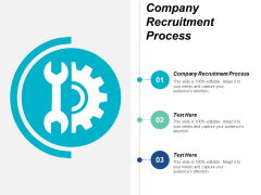 Company Recruitment Process Ppt PowerPoint Presentation Show Guidelines Cpb