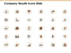 Company Results Icons Slide Growth Ppt PowerPoint Presentation Inspiration Demonstration