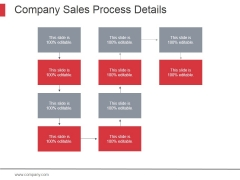 Company Sales Process Details Ppt PowerPoint Presentation Show