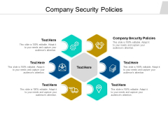 Company Security Policies Ppt PowerPoint Presentation Summary Portrait Cpb Pdf