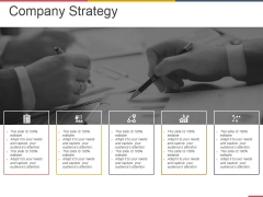 Company Strategy Ppt PowerPoint Presentation Ideas Graphics Design