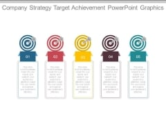 Company Strategy Target Achievement Powerpoint Graphics