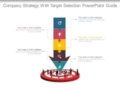 Company Strategy With Target Selection Powerpoint Guide
