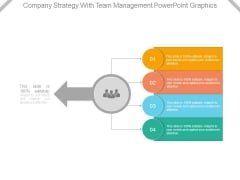 Company Strategy With Team Management Powerpoint Graphics