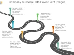 Company Success Path Powerpoint Images