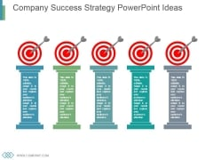 Company Success Strategy Powerpoint Ideas