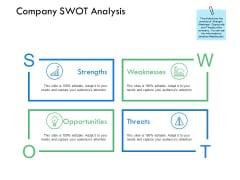 Company Swot Analysis Ppt PowerPoint Presentation File Portfolio