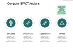 Company Swot Analysis Ppt PowerPoint Presentation Graphics