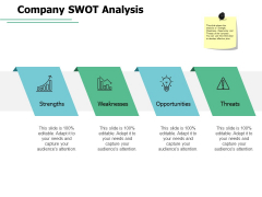 Company Swot Analysis Weaknesses Ppt PowerPoint Presentation Ideas Example