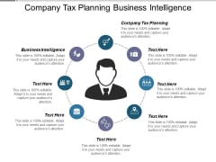 Company Tax Planning Business Intelligence Ppt PowerPoint Presentation Gallery Summary