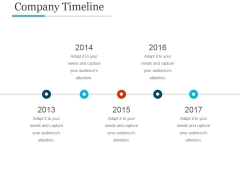 Company Timeline Template Ppt PowerPoint Presentation Infographic Template