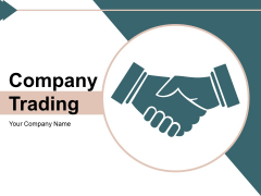 Company Trading Plan Process Ppt PowerPoint Presentation Complete Deck
