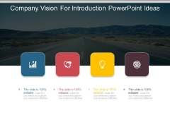 Company Vision For Introduction Powerpoint Ideas