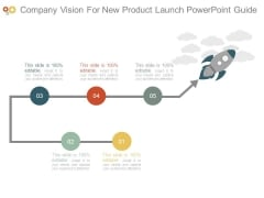 Company Vision For New Product Launch Powerpoint Guide