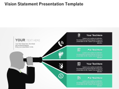 Company Vision Free PowerPoint Diagram