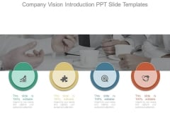 Company Vision Introduction Ppt Slide Templates