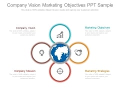 Company Vision Marketing Objectives Ppt Sample