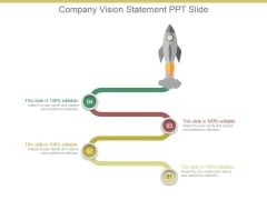 Company Vision Statement Ppt Slide