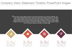 Company Vision Statement Timeline Powerpoint Images