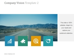 Company Vision Template 2 Ppt PowerPoint Presentation Example 2015