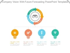 Company Vision With Future Forecasting Powerpoint Templates