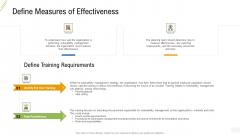 Company Vulnerability Administration Define Measures Of Effectiveness Sample PDF