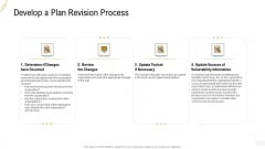 Company Vulnerability Administration Develop A Plan Revision Process Information PDF