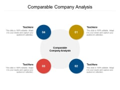 Comparable Company Analysis Ppt PowerPoint Presentation Model Professional Cpb Pdf