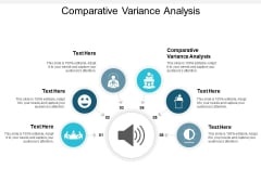 Comparative Variance Analysis Ppt PowerPoint Presentation Model Graphics Example Cpb