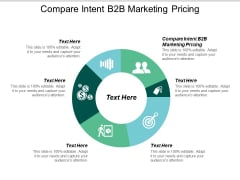 Compare Intent B2B Marketing Pricing Ppt PowerPoint Presentation Diagram Graph Charts Cpb